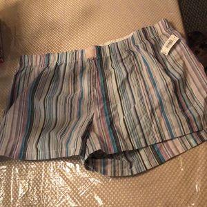Yeah pajama shorts